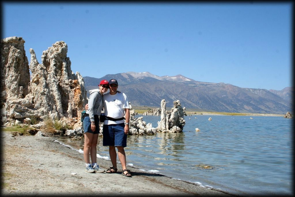 We visited Mono Lake in the Eastern Sierras, home to some very interesting rock formations, and great kayaking.