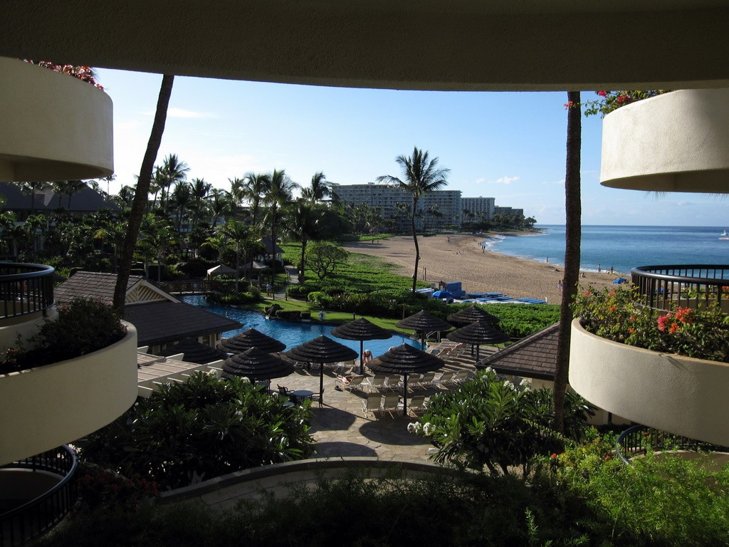 We stayed at the Sheraton Maui on Kaanapali Beach.  It was a beautiful resort, with a wonderful pool, and great restaurants nearby.
