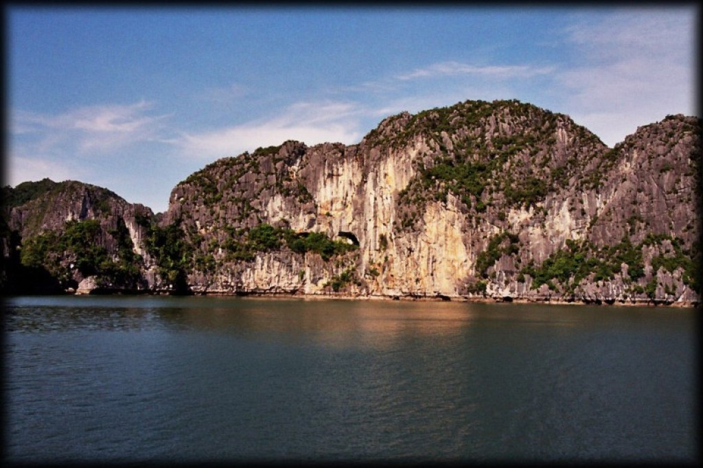 3 hours outside of Hanoi is Halong Bay.  We went for a day trip.
