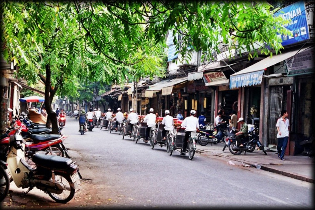 Our first stop in Vietnam was Hanoi.