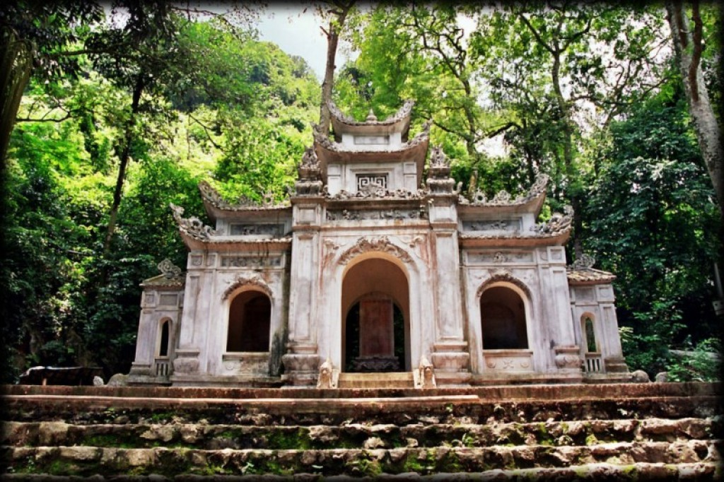A couple of hours outside Hanoi is the Perfume Pagoda.