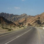 The road to Wadi Shab started well