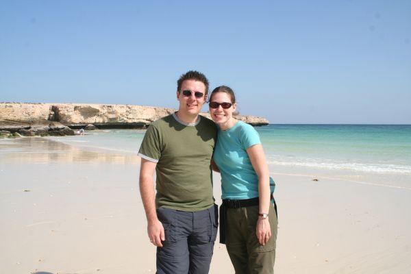 Ian And Wendy S Travel Blog Mokallah Beach In Oman Wadi
