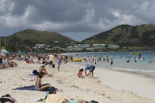 St. Martin Orient Bay Beach