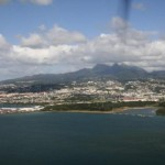 Landing in Martinique