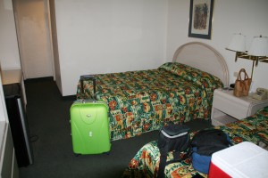 Our room at the Econolodge