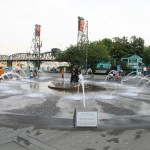 Salmon Street Fountain at Tom McCall Waterfront Park