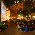 """Flicks on the Bricks"" at Pioneer Courthouse Square"