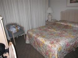 Our motel-like room at Maui Beach Hotel