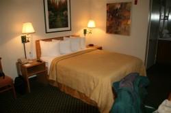 Room at Quality Inn, Oakland, CA