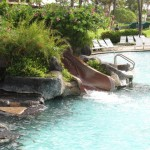 Pool Slide at Sheraton Kauai