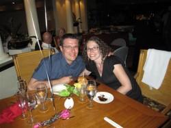 Dinner at Roy's Hawaiian Fusion, Kauai