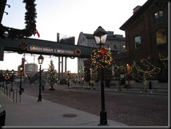 The Distillery District - all decked out for the holidays!
