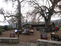 Picnic under the oaks, V. Sattui Winery