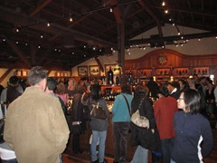 Lots of visitors eager for some wine tasting in Napa Valley wineries.