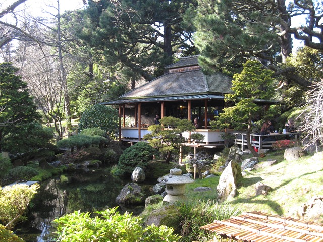 Ian and wendy 39 s travel blog japanese tea garden golden for Japanese house garden