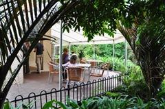 Wintergarden Pavillion's beautiful outdoor seating.