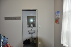 Bathroom at Treks YHA (sorry - hard to get a better photo! It's very small).