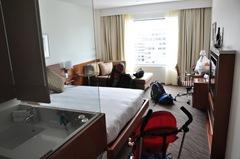 Novotel Christchurch room