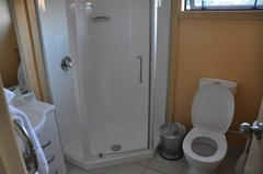 Bathroom at the Lomond Lodge