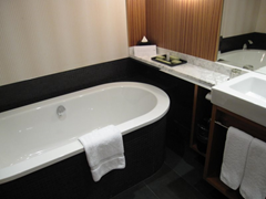 Bathroom at Westin Auckland