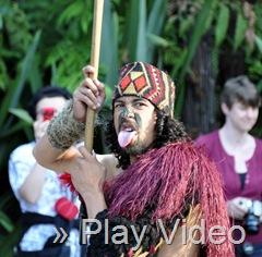 Maori Opening Ceremonies at Tamaki Village - cick for video!