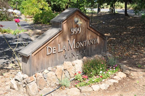 De La Montanya Winery is just outside Healdsburg, in the heart of Sonoma County wine country.