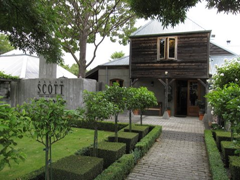 Allan Scott Family Winemakers cellar door/tasting room offers a taste of their Marlborough wine.