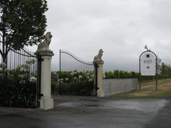 Entrance to the Marlborough Allan Scott Family Winemakers Cellar Door/ Tasting Room.