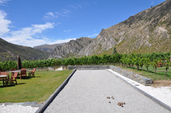 Brennan Winery, Gibbston, Central Otago.  The views alone make it worth the trip.  The great wine just sweetens the deal.