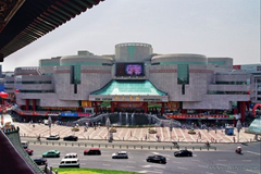 The Xian Kuyuan Shopping Mall - home to beautiful jewlery and some great prizes, too!