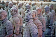 The real reason people go to Xian - the famous Terra Cotta Warriors