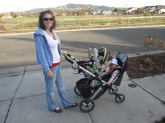 Uppababy Vista Rumbleseat Review Great Double Stroller