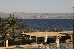 Looking out over the Gulf of Aqaba, Jordan