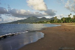 Picard Beach, Portsmouth, Dominica - a hidden gem of the Caribbean