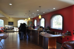 Inside Michel-Bernard's Dry Creek Valley tasting room.