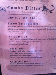 What Wendy actually ordered at La Rosa - the new Mexican Restaurant in Downtown Santa Rosa, Wine Country