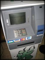 Tahiti ATM machine that