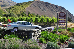A cornucopia of choice – Gibbston Winery offers wine tasting, a cheesery with samples, a restaurant and wine cave tours in the heart of New Zealand's Central Otago wine region.