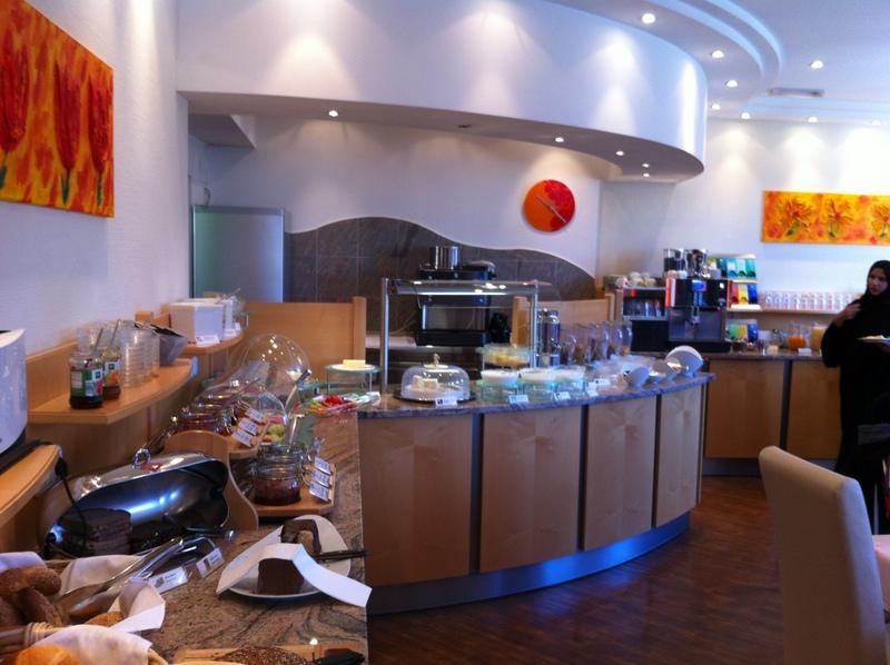 Amazing breakfast at the Hotel Amba